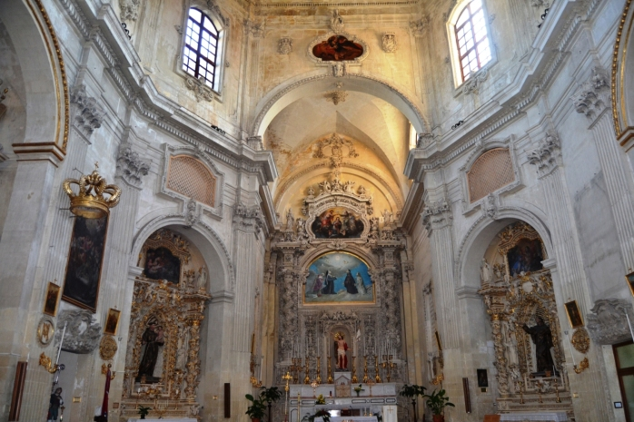 church of Santa Chiara (inside)