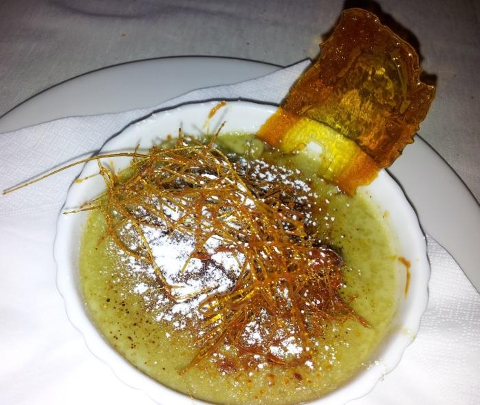 crema catalana al pistacchio