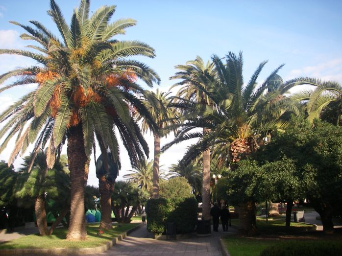 a small park of otranto