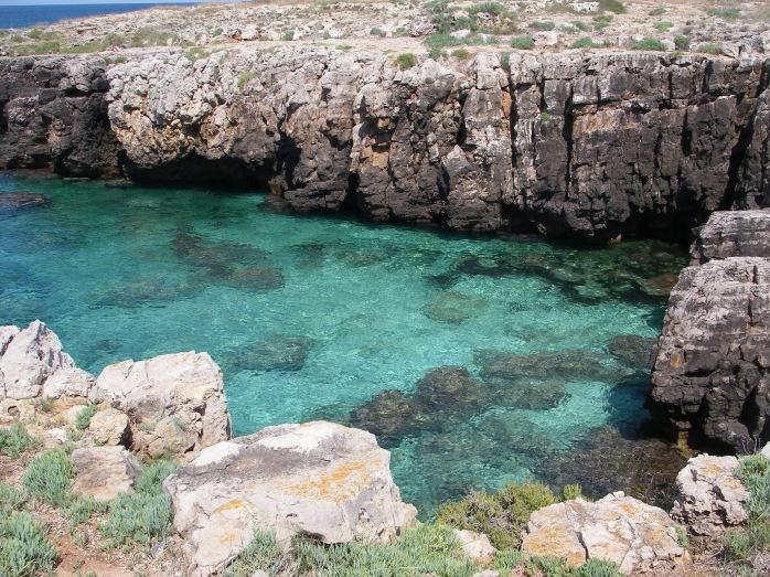 Pizzo del Diavolo, Marina di Alliste / Морское побережье Аллисте