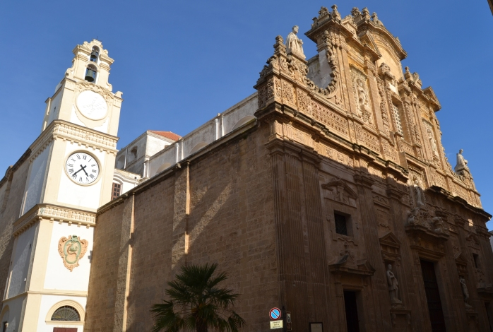 Sant' Agatha Cathedral and the Clock Tower
