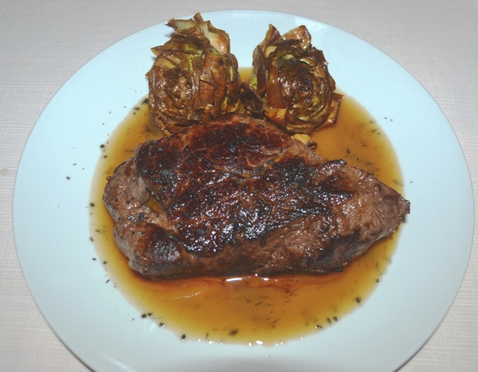 beef with artichokes