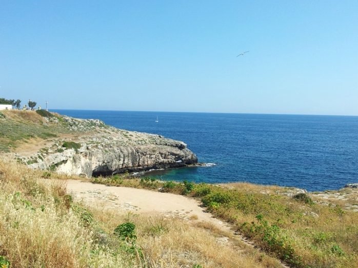 sea caves, we are already close to Leuca
