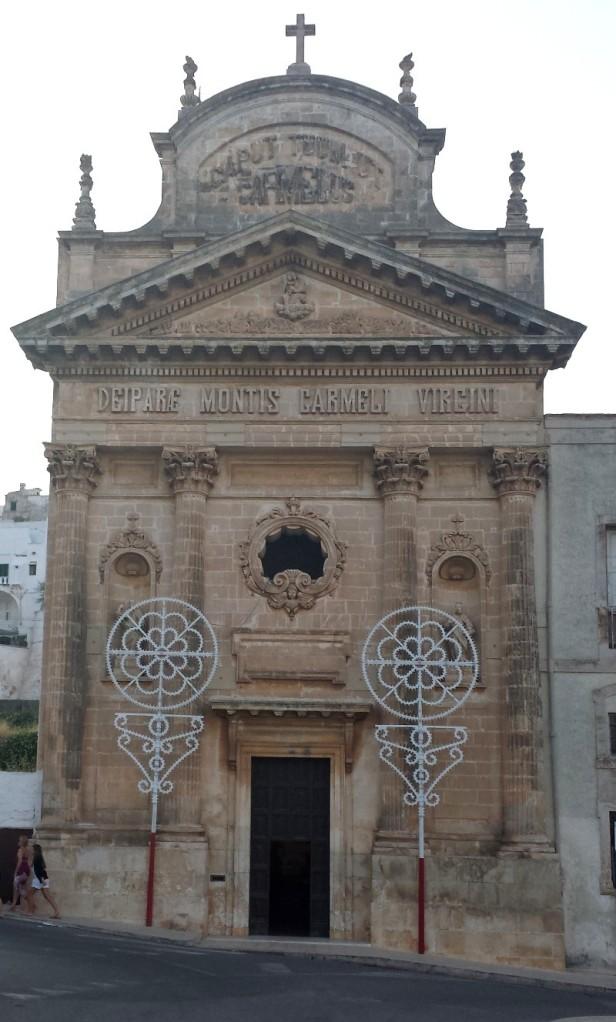 the church of Carmine