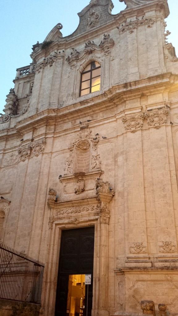 the church of San Vito Martire