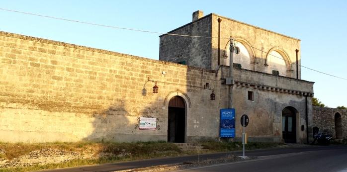 entrance to masseria