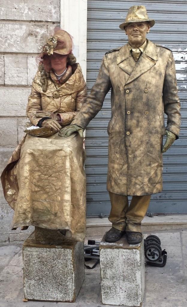 street mimes