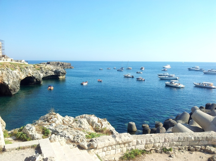 near the port of Leuca