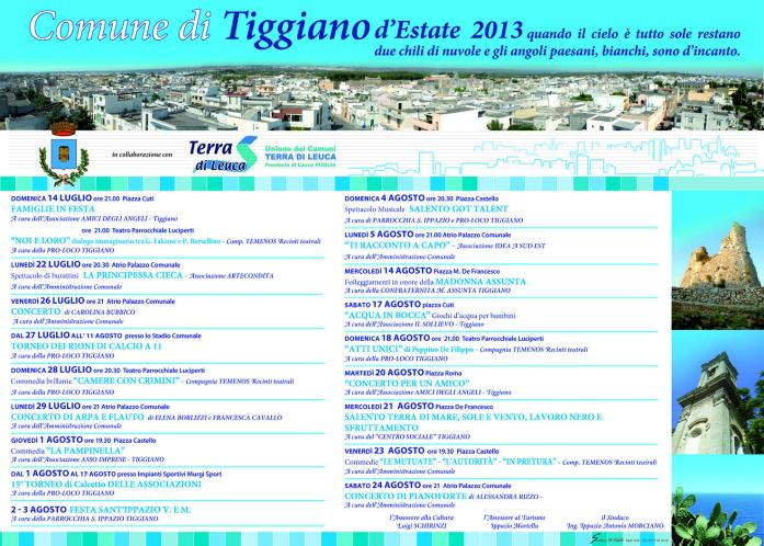 Tiggiano events