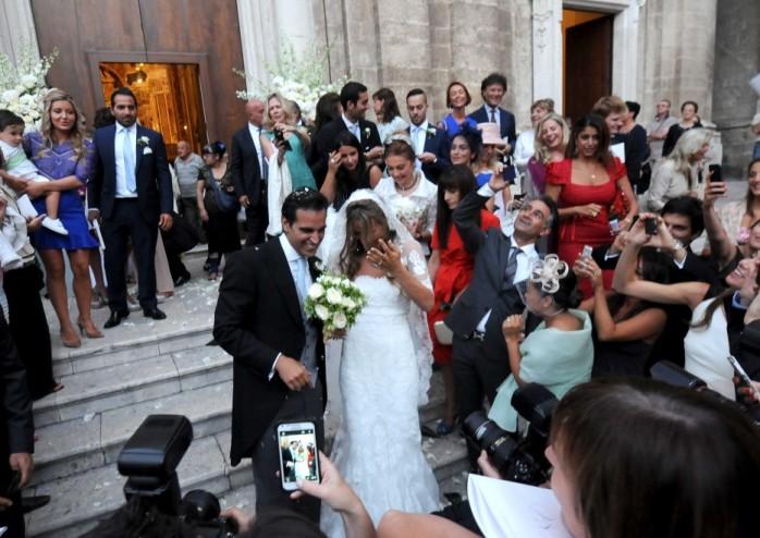 The queen of diamonds De Grisogono is getting married on the altar in Puglia / Королева бриллиантов De Grisogono выходит замуж на алтаре Апулии