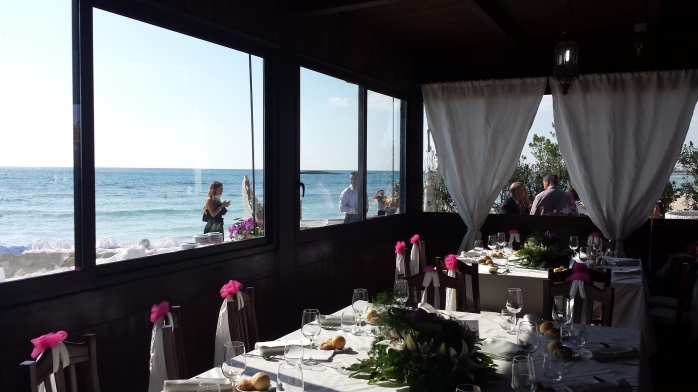 beach wedding salento