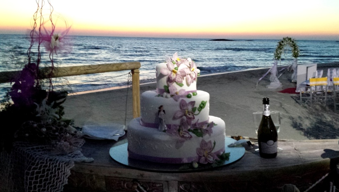 beach wedding salento